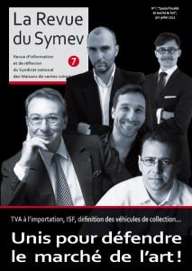 Couverture Revue du Symev n°7