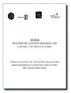 Rencontre Symev-Jeune Creation